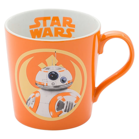 BB-8 Robot Star Wars Heavy Ceramic Coffee Mug Orange Movie Tea Cup Vandor