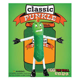 New Punkle Gag Gift Punk Rock Dill Pickle Green Bendable Toy Figure by Off the Wall Toys