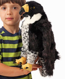 Peregrine Falcon Puppet Plush Stuffed Toy Bird of Prey by Folkmanis Puppets