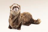"Ferret 25"" Hand Puppet Weasel Plush Stuffed Toy Animal by Folkmanis Puppets"
