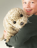 Harbor Seal Hand Puppet 19 Inch Plush Stuffed Animal Toy Folkmanis