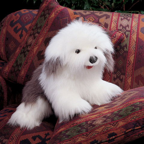 Sheepdog Hand Puppet Toy Dog Stuffed Animal by Folkmanis Puppets