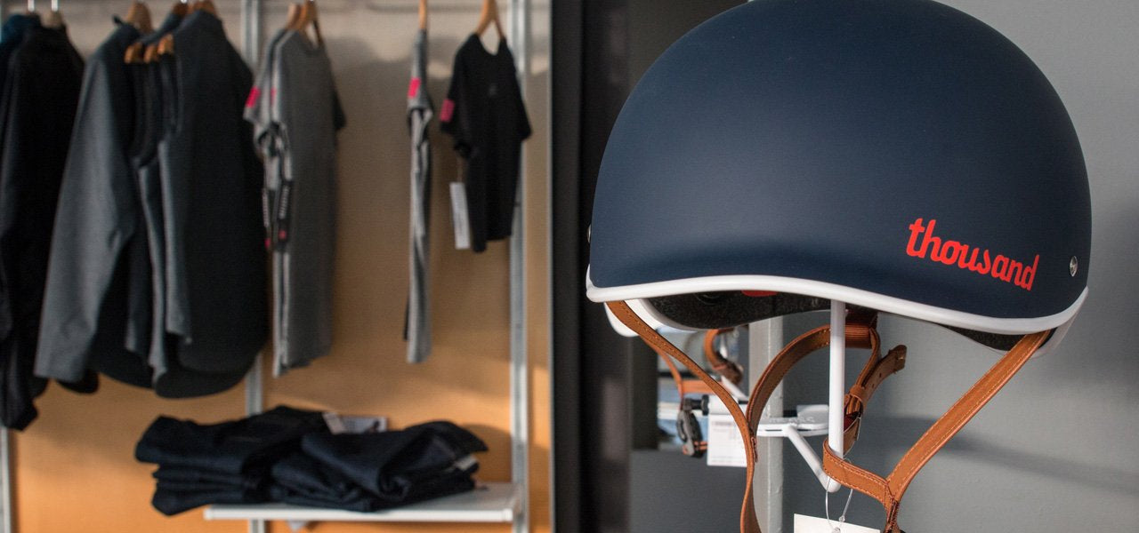 Thousand helmet in our Los Angeles flagship store
