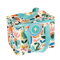 Keep the kids' lunches always fresh with this foil-insulated Wild Wonders lunch bag.
