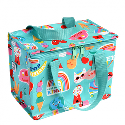 Pack a fun lunch and keep snacks fresh with the colourful and retro Top Banana Lunch Bag by Rex London!