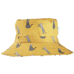 Keep the sun away in style with the Cheetah Bucket Hat from Acorn Kids!