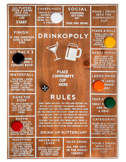 For the perfect icebreaker game, you would need Refinery's Drinkopoly for a fun filled time with your mates and dates.