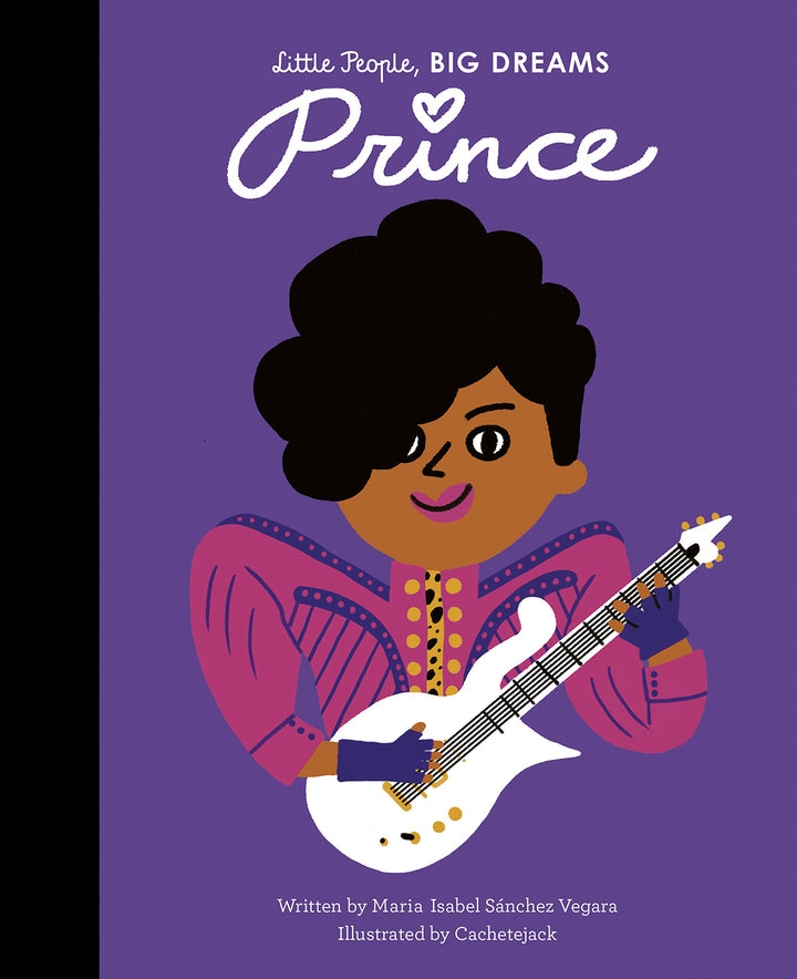 Part of the bestselling Little People, Big Dreams series, Prince tells the inspiring story of this world-renowned singer-songwriter.