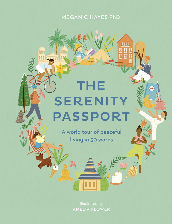 The Serenity Passport is a joyful exploration of the ways in which we relax and rejuvenate around the world, with practical lessons to be drawn from myriad cultures.