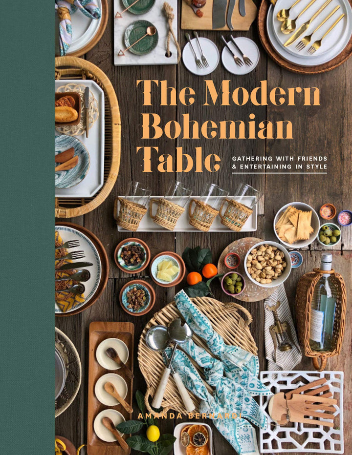 From tablescapes to menu planning, napkin folding to cocktail mixing, The Modern Bohemian Table teaches you how to gather your favorite people and fill their bellies with delicious food and laughter.