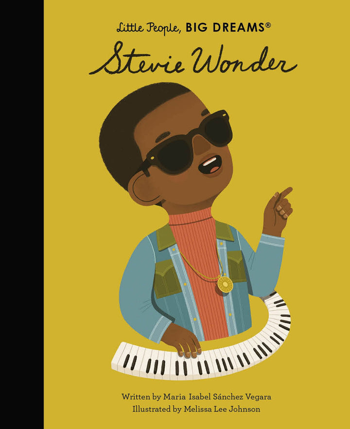 Part of the bestselling Little People, Big Dreams series, Stevie Wonder tells the inspiring story of this world-renowned musician.