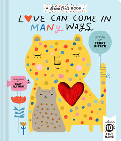A smile, a kiss, a word of praise, Love Can Come In Many Ways and this heartwarming novelty book celebrates the many diverse ways animals, and humans, show their love