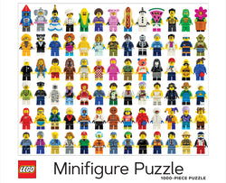 Only the second LEGO puzzle on the market, this 1000-piece puzzle features a colourful collection of LEGO minifigures, presenting an exciting challenge for LEGO fans of all ages.