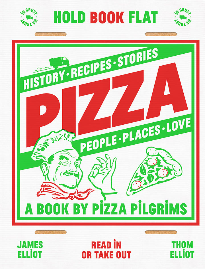 Oven fresh and packed with interviews, pizza facts, movie scenes, world records and even pizza tattoos, Pizza is an illustrated book with all manner of pie-based fun and written with a hearty dose of humour.