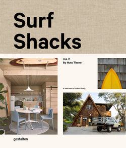 Surf Shacks picks up where the first volume left off: exploring homes of surfers from coast to coast. Surfing is a way of life, one that defines not only where we live, but how we live.