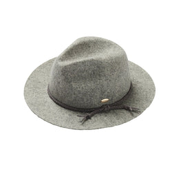 Winter is upon us, so let's welcome it with the Lani Wool Grey Fedora by Acorn!