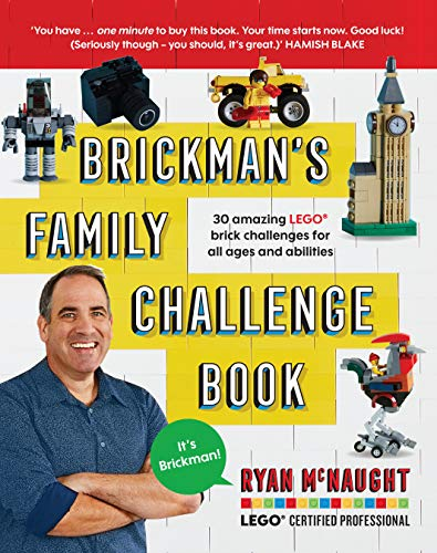 Challenge each member of your household to a building competition that is the brainchild of Brickman himself, star judge of the smash hit TV show LEGO® Masters Australia and a LEGO Certified Professional.