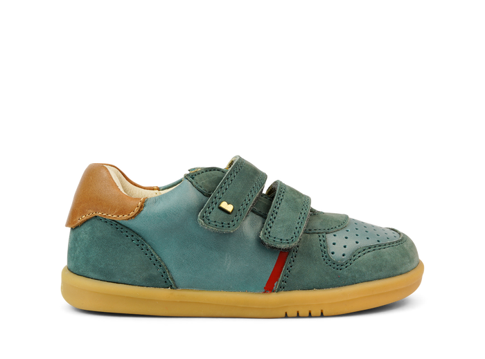 The IW Slate Riley from Bobux is a retro-inspired trainer, perfect for special occasions and everyday style.