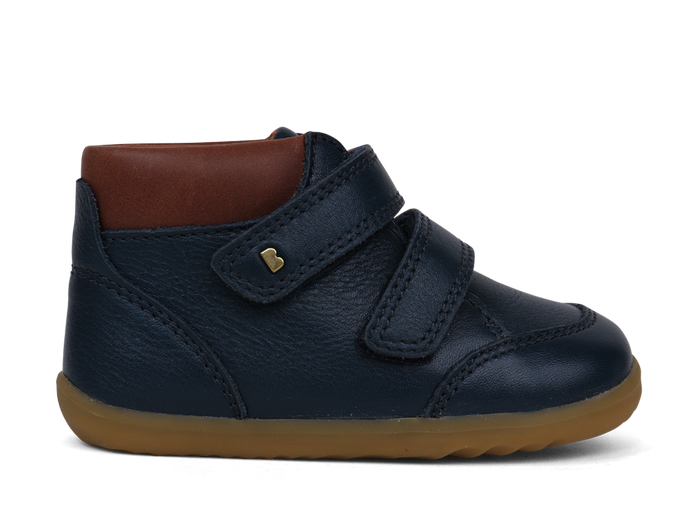 We're ready for winter with the SU Navy Timber Boot from Bobux!