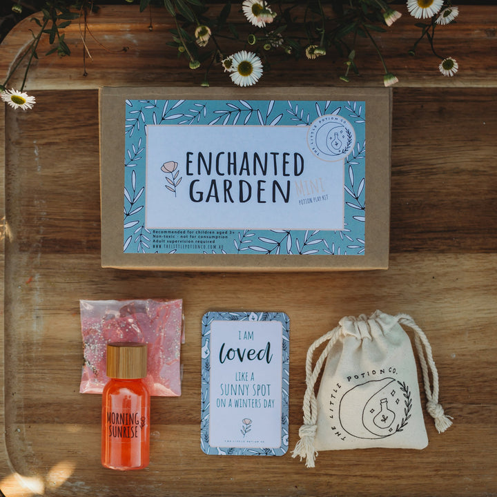 The Enchanted Garden Mini Potion Kits are the perfect introduction to mindfulness from The Little Potion Co!
