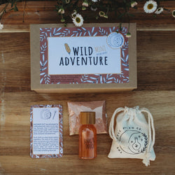 The Wild Adventure Mini Potion Kit are the perfect introduction to mindfulness from The Little Potion Co! They are for those seeking to start on their magical journey and help to promote imaginative play.