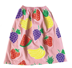 Get fruity in the Juicy Fruit Skirt by Doo Wop Kids and don't forget to peep the matching Tee for the full look!