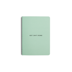 Time to start taking action with the Get Shit Done notebook from MiGoals!