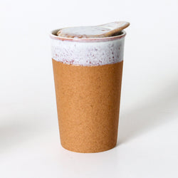The Raw Earth Ceramic Coffee Cup is a beautifully designed ceramic coffee cup.