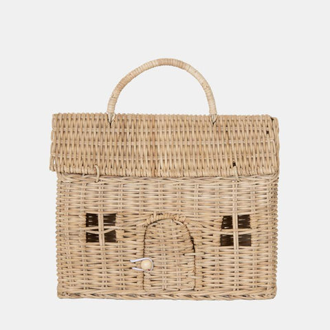 We love the SuperCute Doll Straw Casa Clutch by Olli Ella.  A home that travels with you wherever you go, the Casa Clutch is the perfect toy house/ basket.
