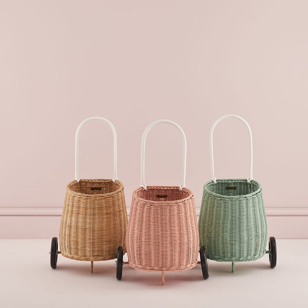 Whether it's for a trip to the beach or a trolley for the markets, Olli Ella's Luggy Basket is your perfect companion.