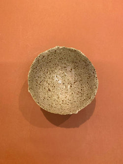 We are beyond thrilled to share the stunning Raw Blush Earth Bowl from The Clay Society!