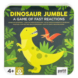 Have a roaring good time with this Dinosaur Jumble game of fast reactions from Petit Collage!