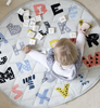 This Di Lusso ABCD playmat is perfect for hangout time, tummy time or playtime