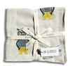 Looking for a useful and SuperCute baby present? Look no further than this Mr Bear Baby Blanket by Di Lusso