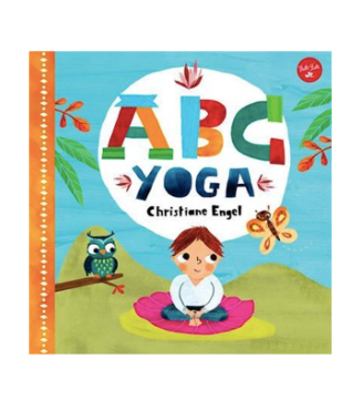 ABC Yoga, a fun family read, this interactive title is perfect for teaching toddlers their ABCs, as well as introducing them to familiar animals and basic, simplified yoga poses that promote health and well-being.