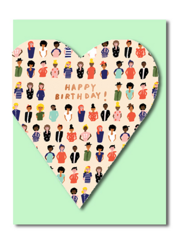 Heart Felt Friend Card