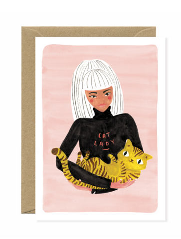ATW Cat Lady Card