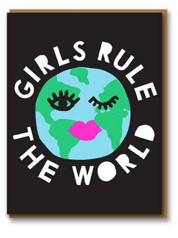 Girls Rule The World Card