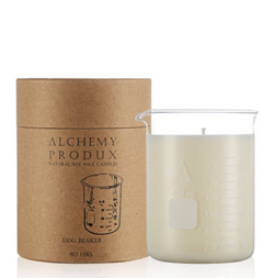 Get a whiff of this insanely yummy Yuzu candle! Set in a chemistry beaker, this range by Alchemy are about mixing a Science vibe with incredible scents.
