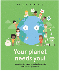 Your Planet needs you! Everyday environmentalism for everyone. A Supercool look at how to wallop waste and reduce rubbish from renowned picture book creator Philip Bunting.