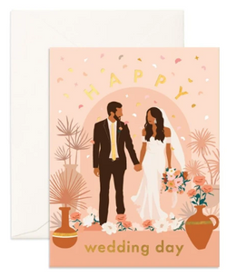 Happy Wedding Day card from Fox & Fallow!