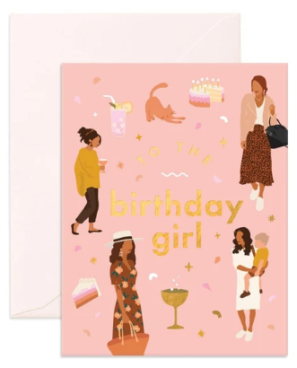 Muse Birthday Girl Card by Fox & Fallow!