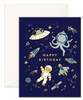 Birthday Space Card
