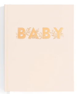 This Buttermilk Baby Book from Fox & Fallow is a beautiful keepsake for the whole family to enjoy over the years.