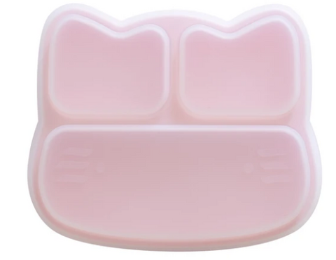 A Supercool essential : the other half of the Stickie Plate Duo is the Cat Stickie Plate Lid from We Might Be Tiny! Save the unfinished yummies for later, or take it with you the playground! (Lids and Plates sold separately!)