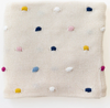 Send your bubba off to sleep with the adorable Confetti Baby Blanket from Di Lusso! In the softest 100% cotton it will keep your baby snug and warm!