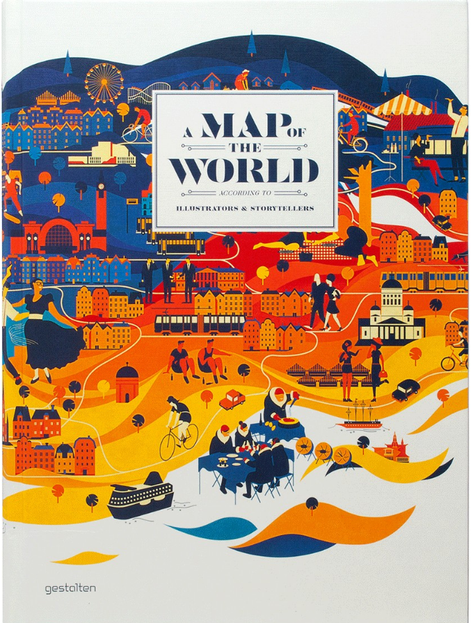 The Map of the World book is a compelling collection of work by a new generation of original and sought-after designers, illustrators, and mapmakers.