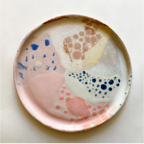 We are obsessed with these beautiful Ceramic Side Plates from Benna Co! These gorgeous ceramics are hand made and hand painted locally in Brunswick, Melbourne.