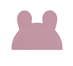 Why not make meal time a breeze with the non-slip Bunny Dusty Rose Placemat from We Might Be Tiny? We all know that hungry toddlers are a force to be reckoned with!