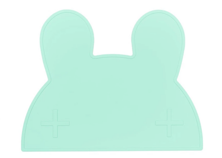 Why not make meal time a breeze with the non-slip Bunny Minty Green Placemat from We Might Be Tiny? We all know that hungry toddlers are a force to be reckoned with!